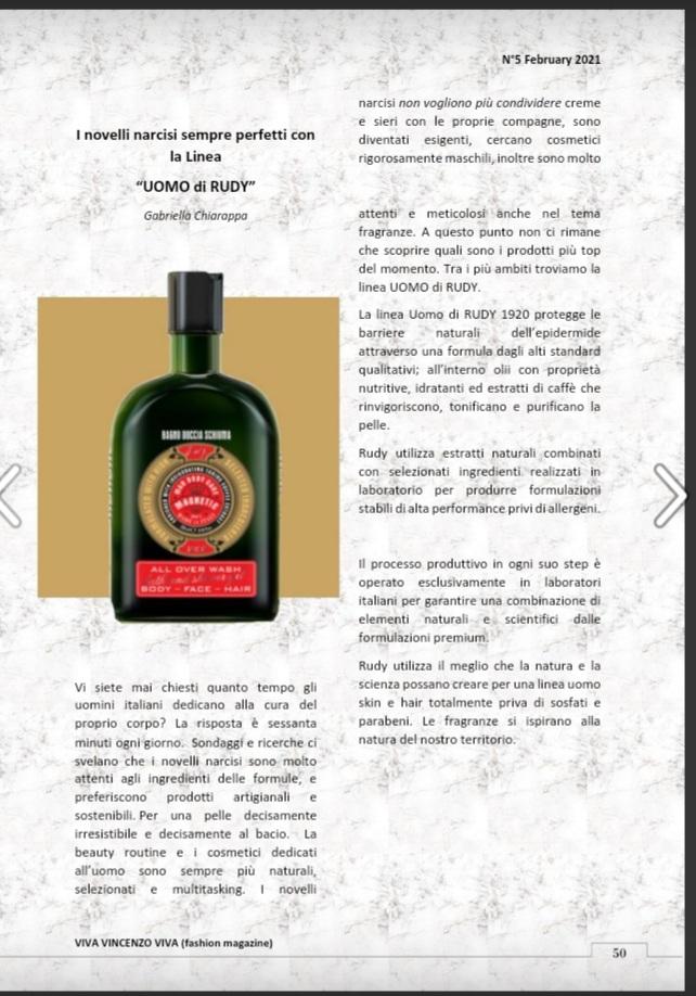 Viva Vincenzo Viva - Fashion Magazine
